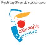Logo Projekt współfinansuje m.st. Warszawa